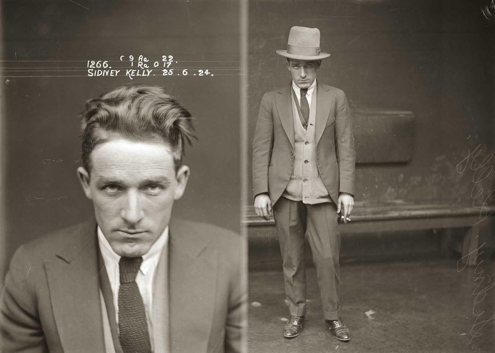 Sidney Kelly. 1924.