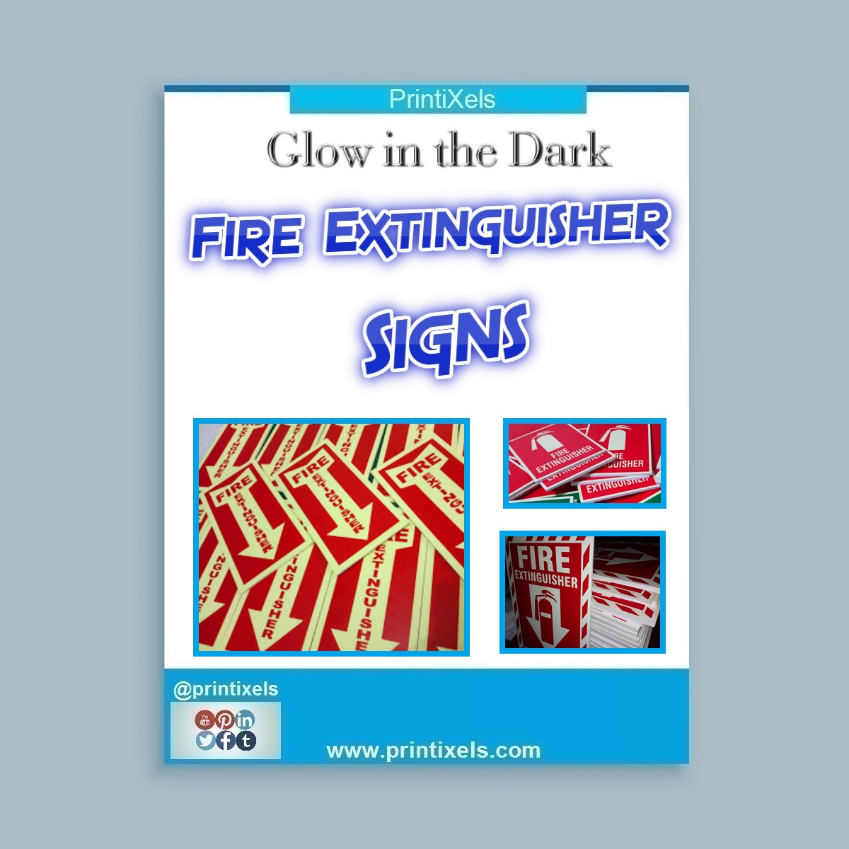 Glow in the Dark Fire Extinguisher Signs Philippines