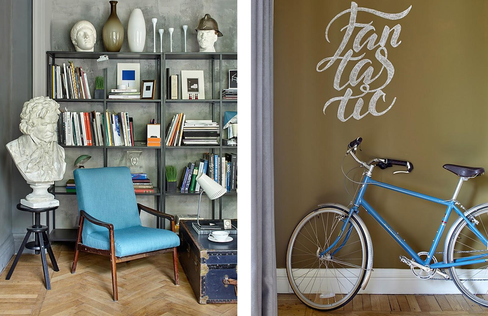Arredamento Ufficio Rustico : Casa ufficio con opere d arte e arredi vintage by a interior
