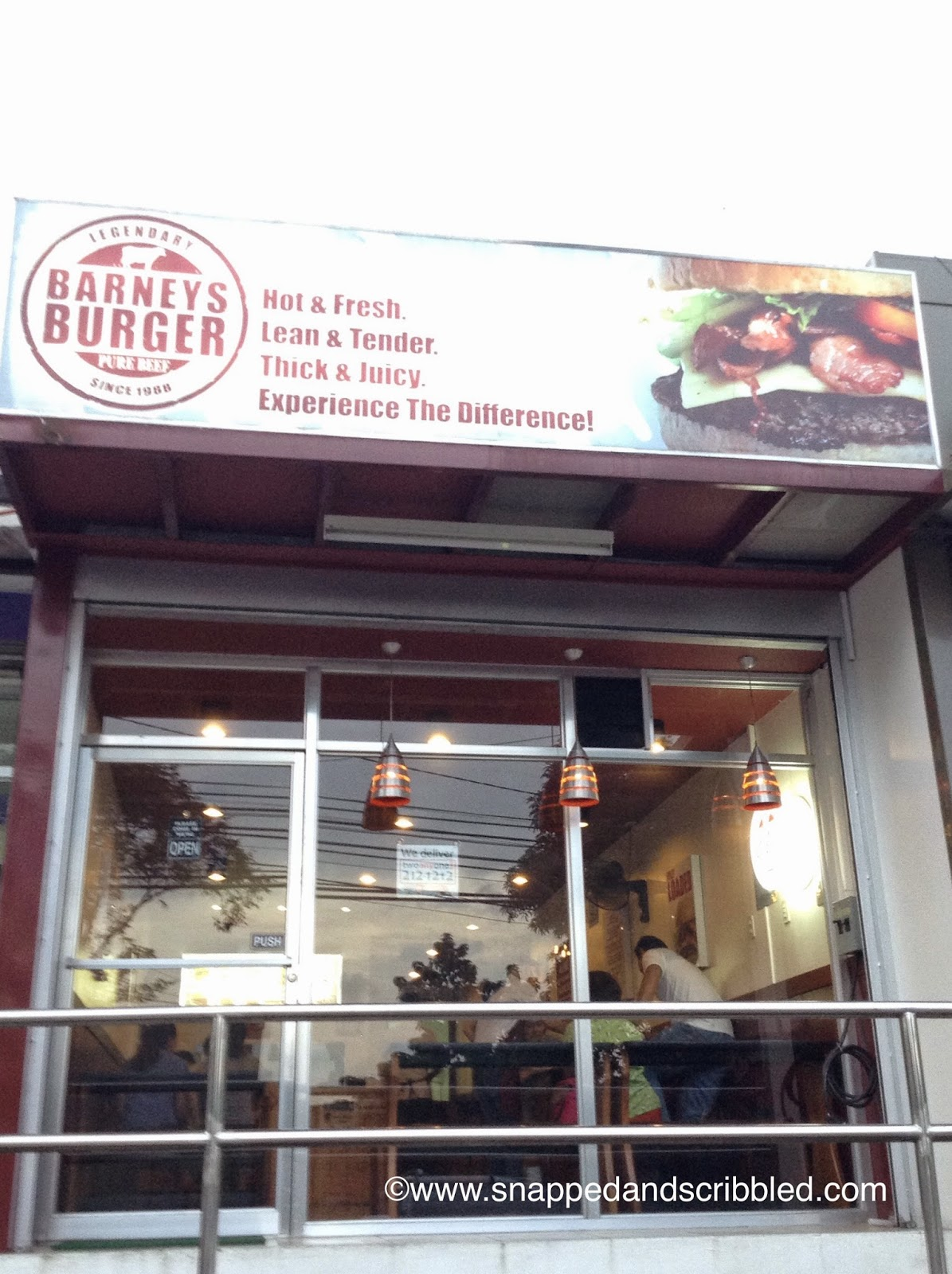 Where To Eat In Marikina: Barneys Burger
