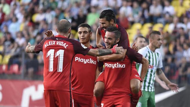 Crónica Zalgiris 0 - Sevilla FC 5