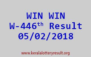 WIN WIN Lottery W 446 Results 05-02-2018