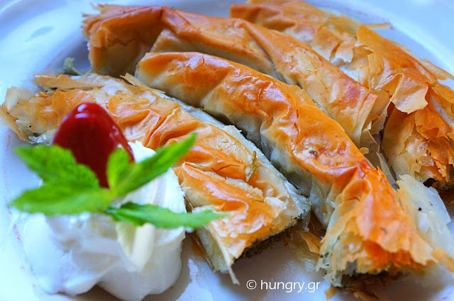 Greek Greens Pie - Hortopita
