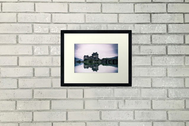 Scottish Highlands Horizontal Travel Art Print Home Decor