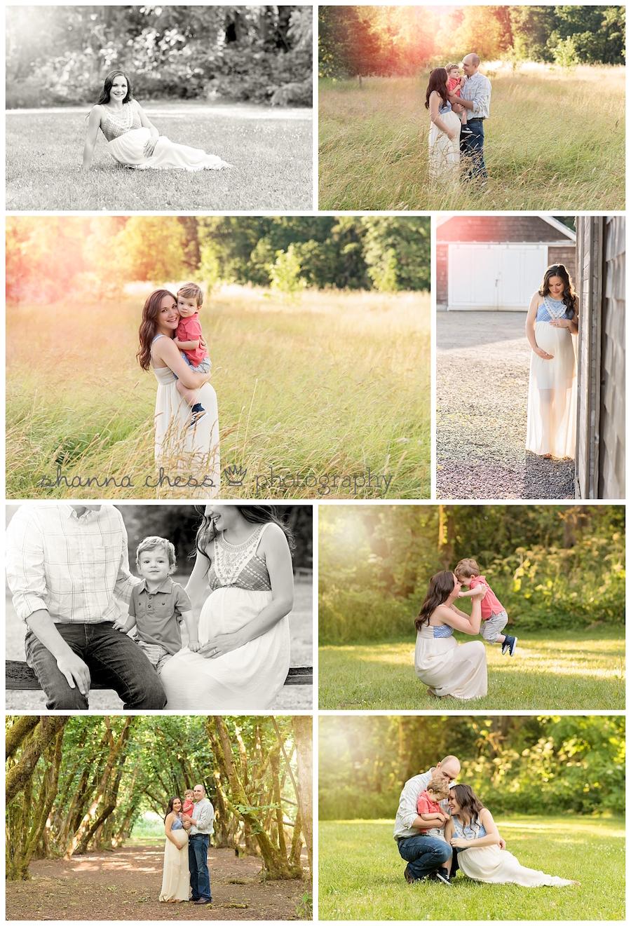 eugene oregon maternity photography family