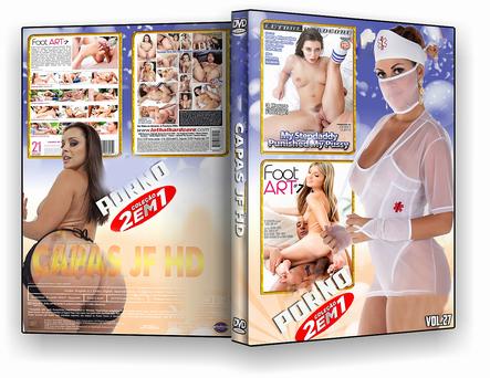 CAPA DVD – COLEÇÃO PORNO DVD-R VOL 27 – ISO