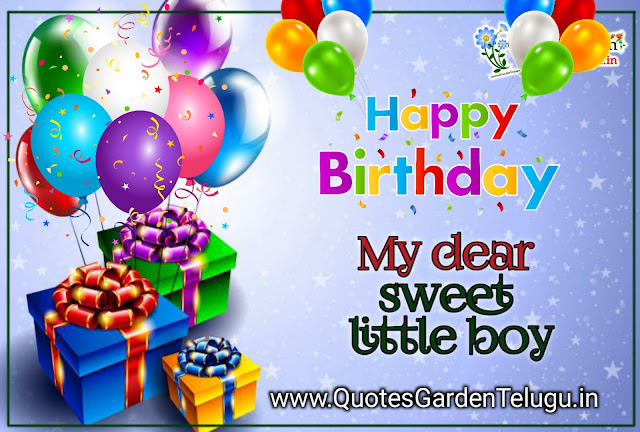 happy birthday wishes for little boy quotesgardentelugu