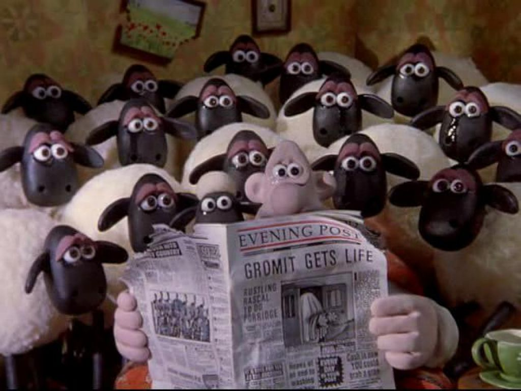 wallace and gromit meet shaun the sheep theme