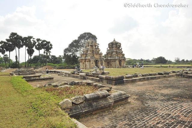 Kodumbalur Muvar Koil Architecture Pudukottai