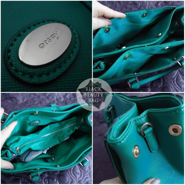 6f7c2ad4ba3ba Z pomocą przyszedł mi sklep internetowy, gdzie nie tylko znalazłam torebkę  w pięknym zielonym kolorze, ale dodatkowo za pół ceny. Musiała być moja!