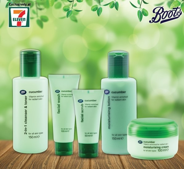 Boots In 7-Eleven Malaysia, Boots Malaysia, 7-Eleven Malaysia, Boots, UK's No.1 skincare products, Beauty
