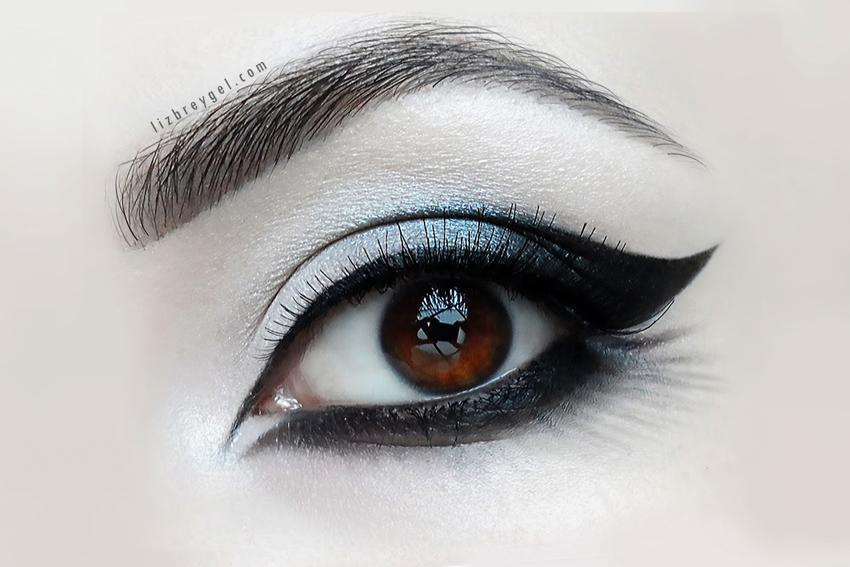 Goth Eye Makeup Step By Step Tutorial by Liz Breygel on January Girl blog
