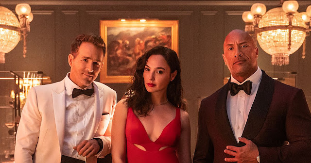 RED NOTICE Official Trailer Featuring  Dwayne Johnson, Ryan Reynolds and Gal Gadot