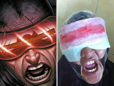 Disfraz de Ciclope de los X-men cosplay