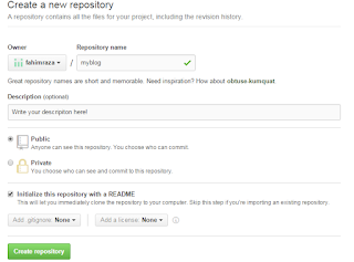 hw to create repository in github