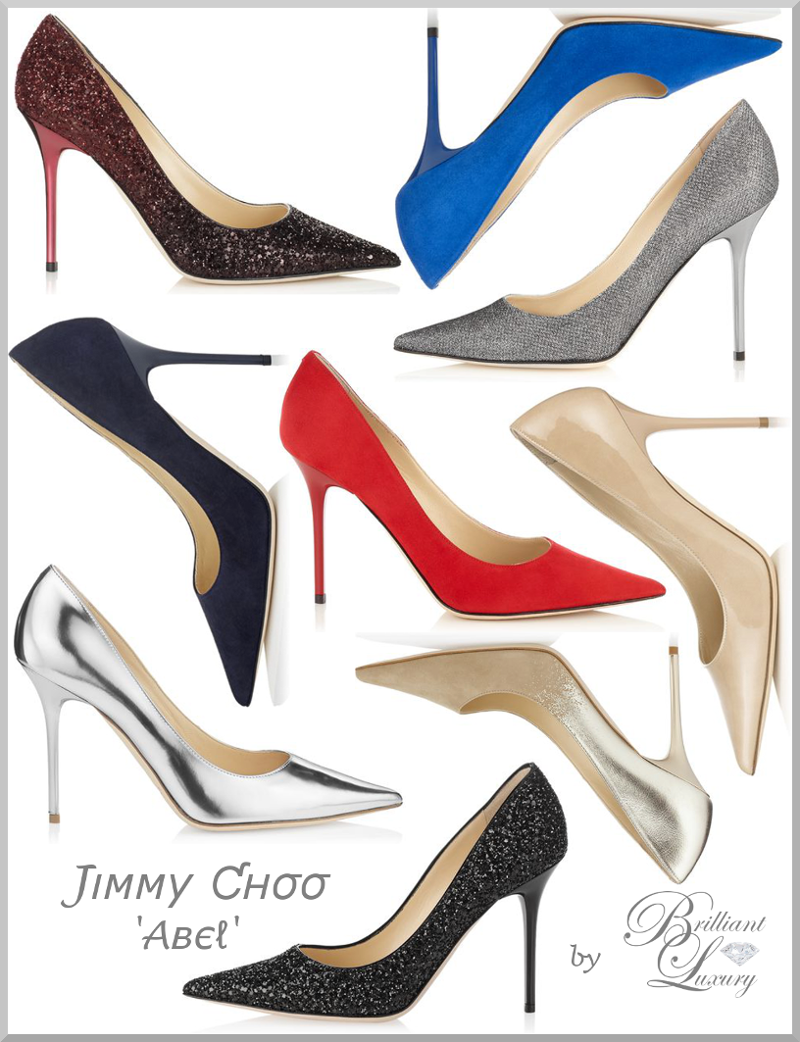 Brilliant Luxury ♦ JIMMY CHOO 'Abel' Collection