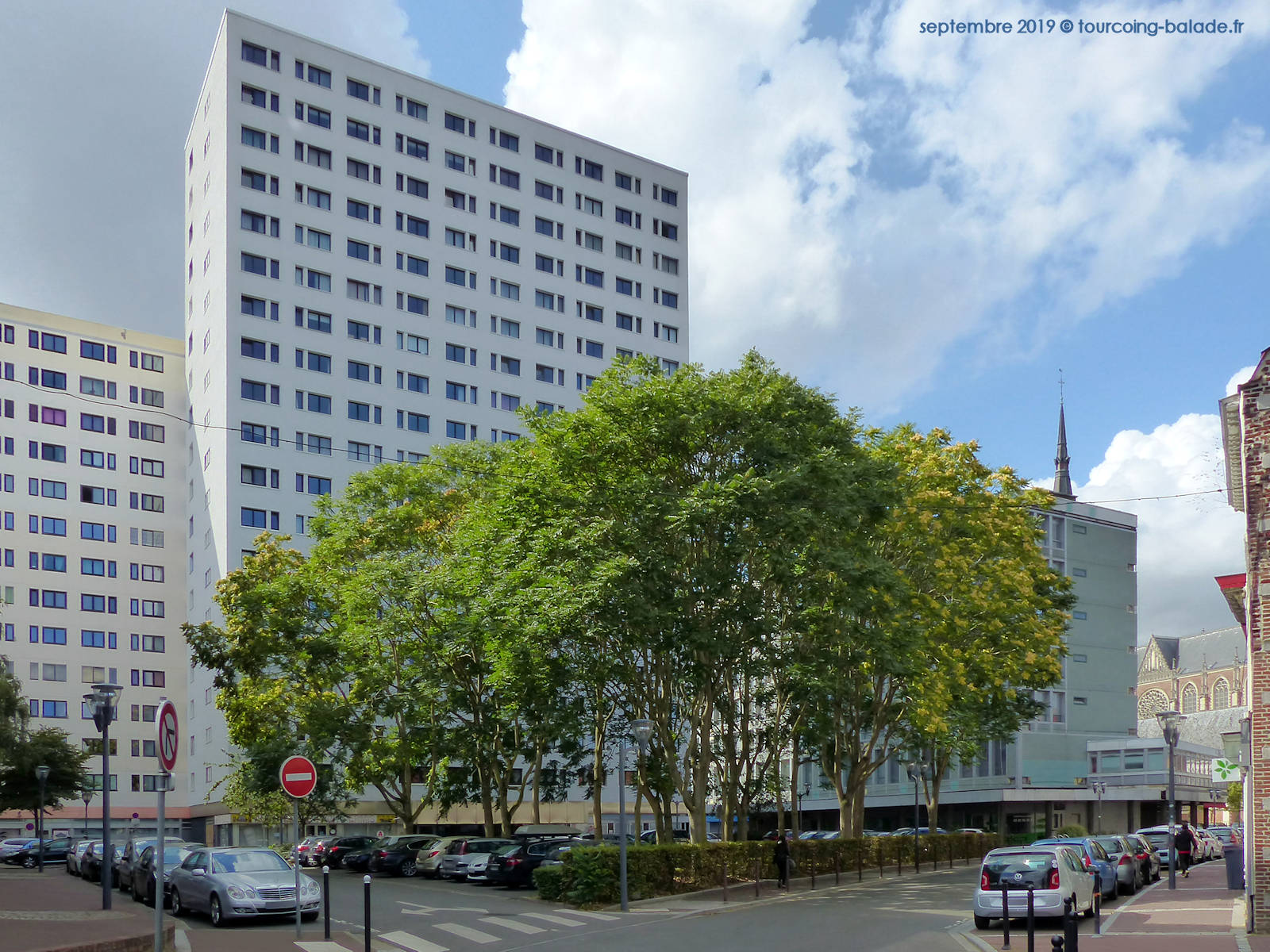 Rue de Tournai, Résidence Bailly, Tourcoing 2019