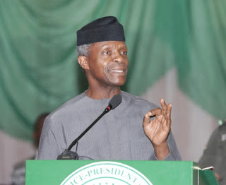 Incredible Things Jonathan Did in Office - Osinbajo Makes Shocking Revelations