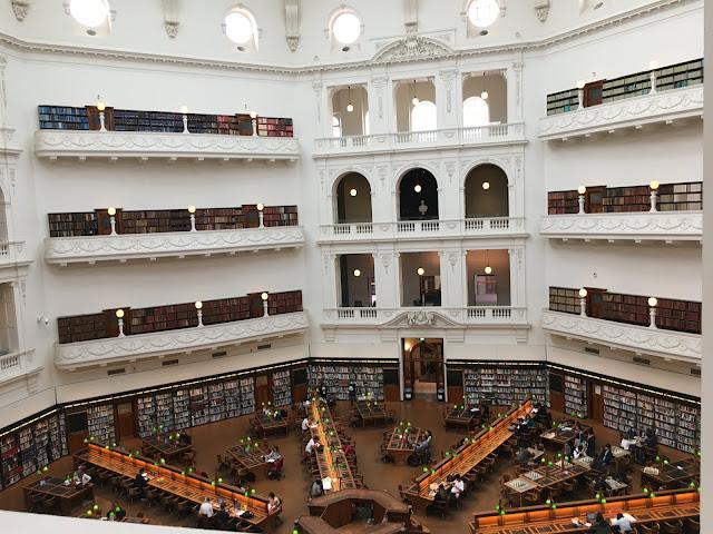 State Library of Victoria Melbourne Australia