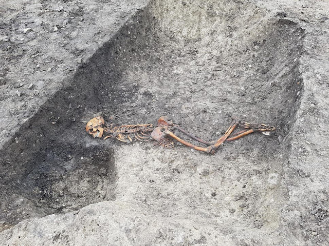 Iron Age 'mystery' murder victim found during roadworks in England