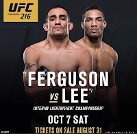 free ufc 216 ferguson lee fight pick preview