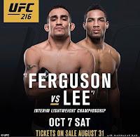 free ufc 216 ferguson lee fight pick preview