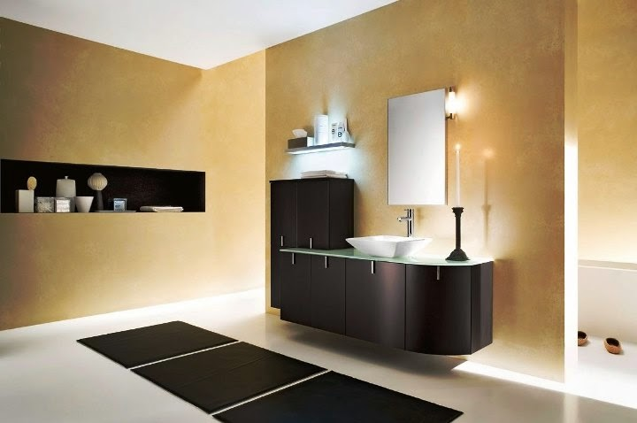 modern paint ideas bathroom