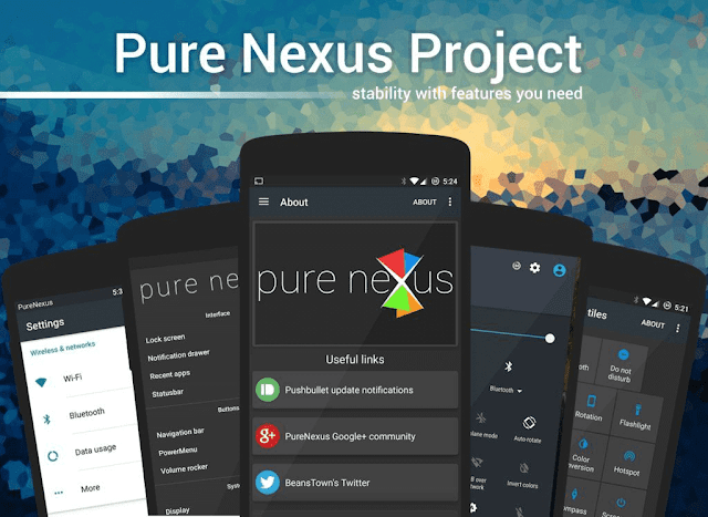 Pure Nexus Custom rom for REdmi note 3