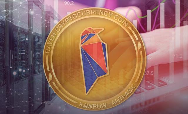 Gambar Ravencoin (RVN) Cryptocurrency Token