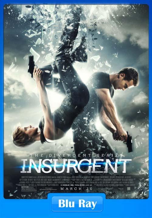 Insurgent 2015 Dual Audio 720p BluRay ESubs | 480p 300MB | 100MB HEVC Poster