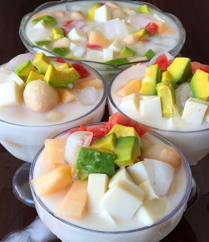 Resep Spesial Favorit Es Pudding Buah
