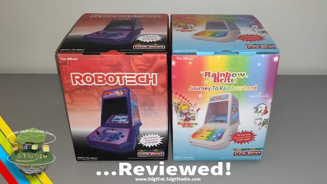 Super Duper Gamer Team Entertainment Coleco Mini Arcade Games Reviewed