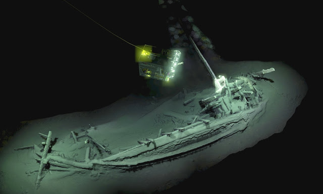 Oldest intact ancient Greek shipwreck found in Black Sea
