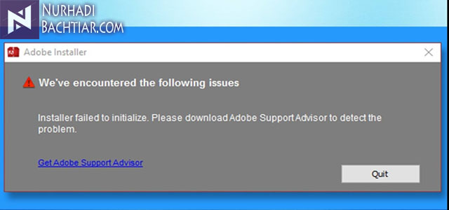 Cara Benar Mengatasi Installation Failed Adobe di Windows