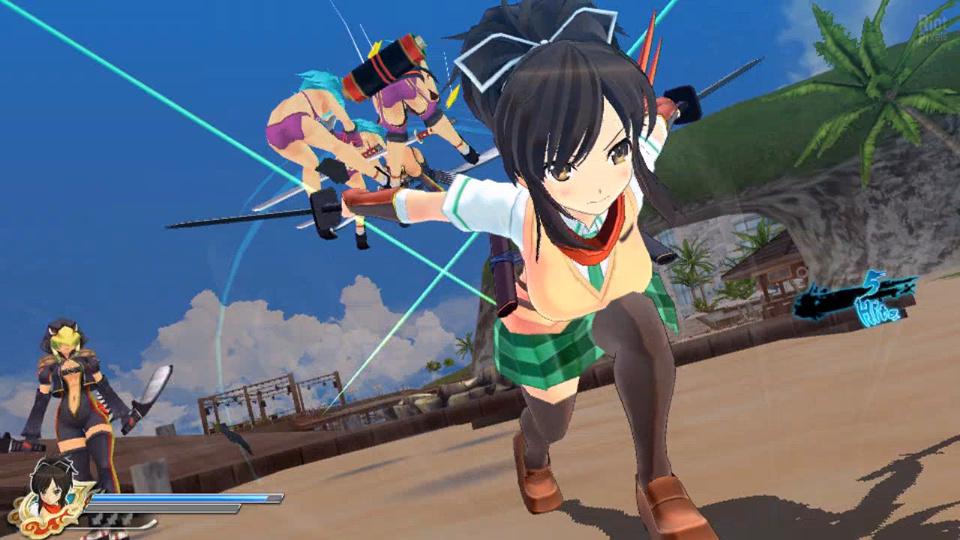 Senran Kagura: Estival Versus - Mission Pack 2017 pc game Img-2