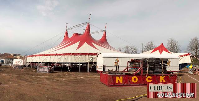 le nouveau chapiteau du cirque Nock