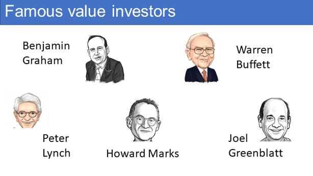 Famous value investors