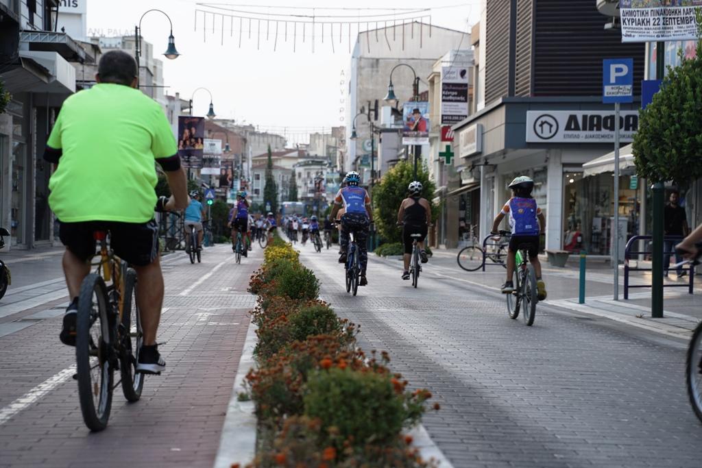 Ημέρα χωρίς Αυτοκίνητο την Κυριακή στη Λάρισα (ΦΩΤΟ-VIDEO)