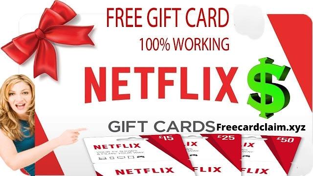 Netflix. How To get a free Netflix gift card   
