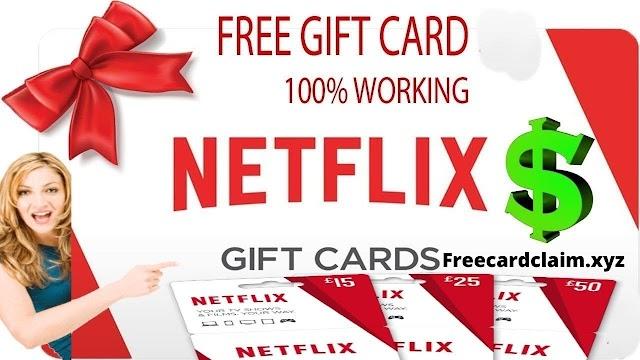 .Netflix. How To get a free Netflix gift card ||