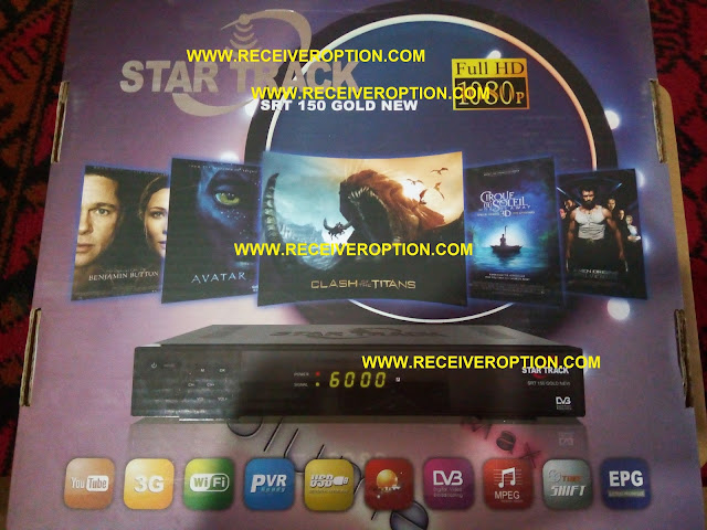 STAR TRACK SRT 150 GOLD NEW HD RECEIVER POWERVU KEY OPTION