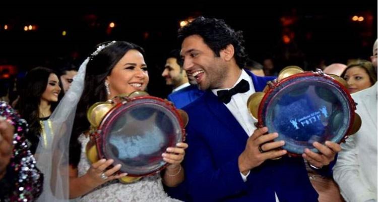 قصة انفصال حسن الرداد و إيمى سمير غانم بعد أسبوعين من الزواج