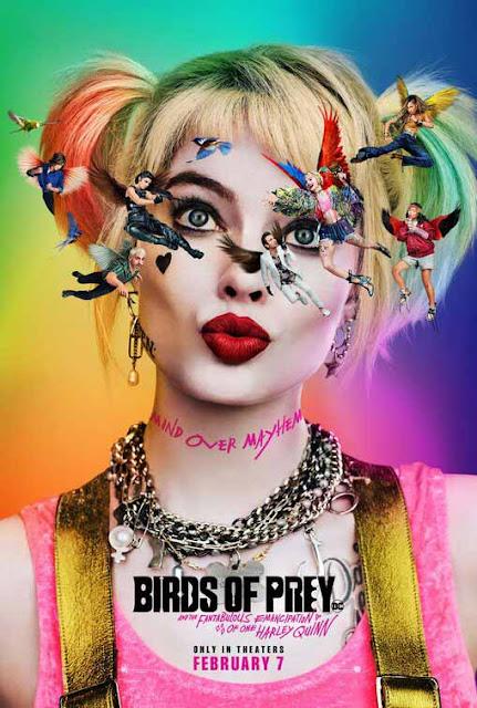 ملكة الفوضى هارلي كوين تعود في العرض الدعائي الرسمي لفيلم Birds of Prey Official poster