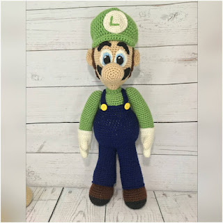 patron amigurumi luigi holly's hobbies
