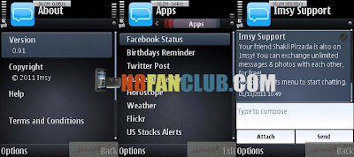 Imsy Messenger 0 95 - S^3 - Anna - Belle - Nokia N8 - Free App Download