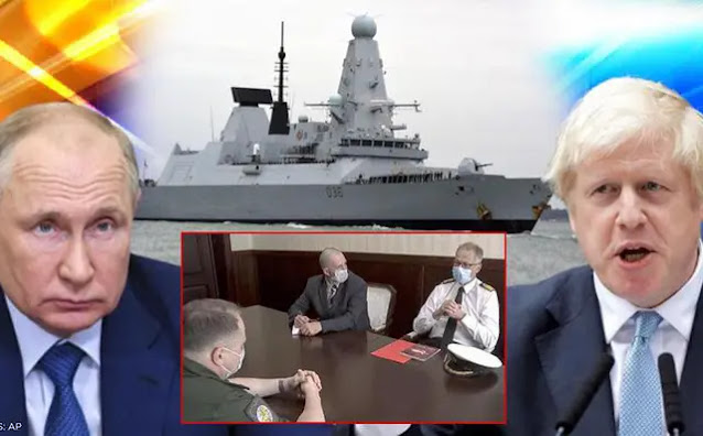 President Putin commented on the British frigate's violation of territorial waters: Obviously provocative!
