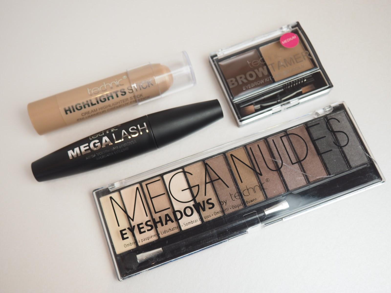Katie Ann Hall Technic Makeup Review