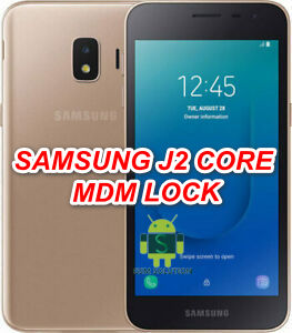 How To Remove Samsung J2 Core SM-J260T1 MDM Lock-Dose Not allow Factory Reset
