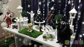 Decoração de festa infantil Star Wars