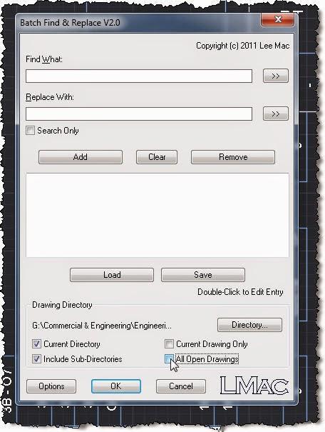 Random Stuff: AutoCAD advanced search replace